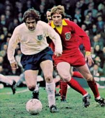 England v Wales, 1972