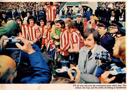 FA Cup Final, Sunderland 1973