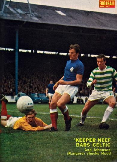 Gerry Neef, Rangers 1969