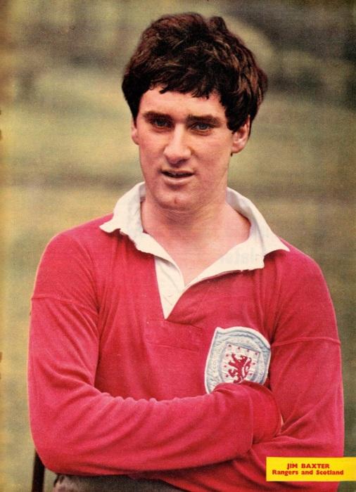 Jim Baxter, Scotland 1964