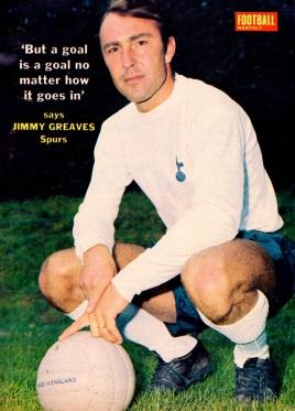 Jimmy Greaves, Tottenham 1970