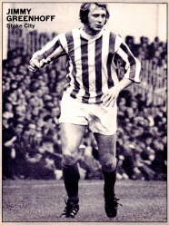 Jimmy Greenhof, Stoke City 1971
