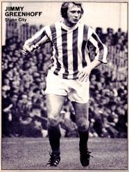 Jimmy Greenhof, Stoke City 1971