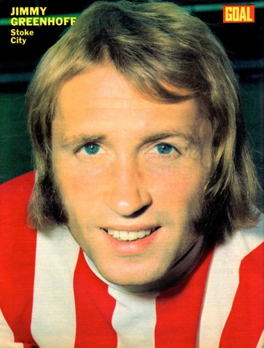 Jimmy Greenhof, Stoke City 1973