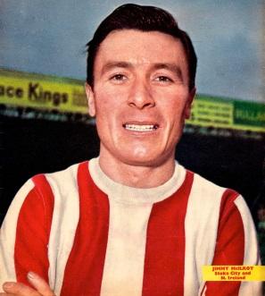 Jimmy McIlroy, Stoke City 1963