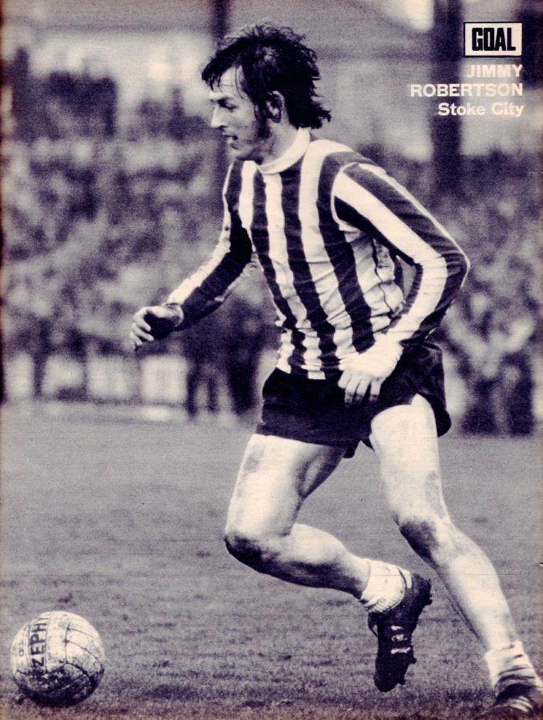 Jimmy Robertson, Stoke City 1973