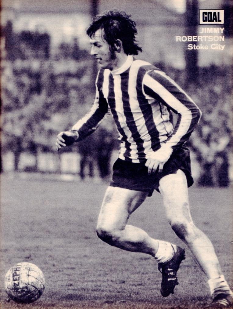 Jimmy Robertson, Stoke City 1973