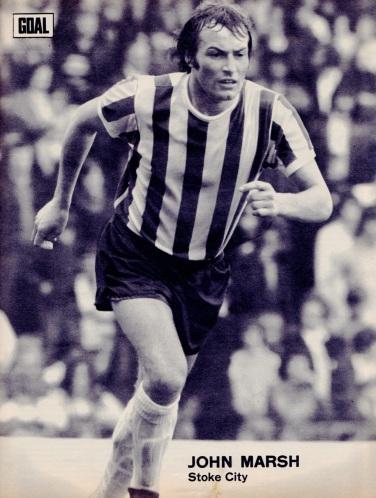 John Marsh, Stoke City 1973