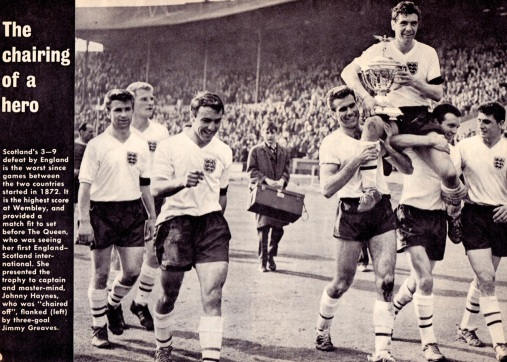 Johnny Haynes, England 1961