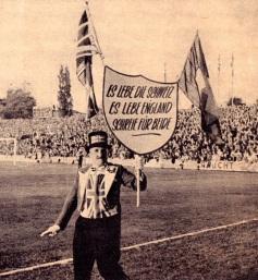 Ken Bailey, England supporter 1966