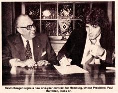Kevin Keegan, Hamburg 1979