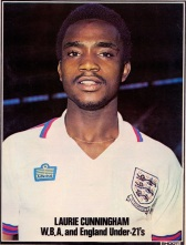 Laurie Cunningham, England U21s 1977
