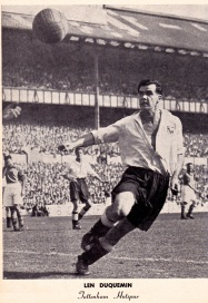 Len Duquemin, Tottenham 1951