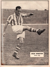 Leslie Johnston, Stoke City 1951