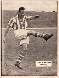 Leslie Johnston, Stoke City 1951