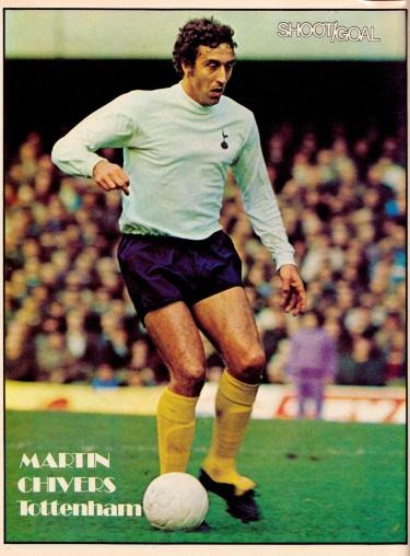 Martin Chivers, Tottenham 1975