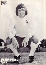 Martin Peters, Tottenham 1973