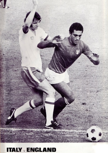Mick Channon, Italy v England, 1976