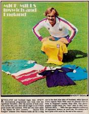 Mick Mills, England 1976