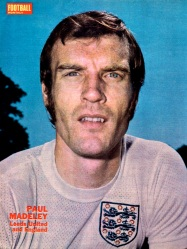 Paul Madeley, England 1971