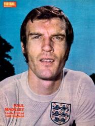 Paul Madeley, England 1971
