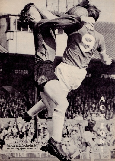 Peter Shearing, West Ham 1960