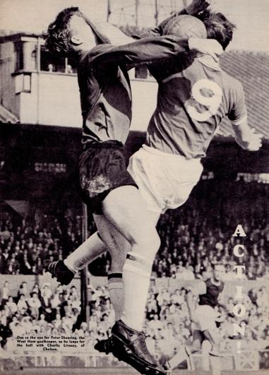 Peter Shearing, West Ham 1960