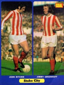 Ritchie & Greenhof, Stoke City 1972
