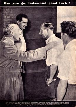 Rowe & Burgess, Tottenham 1954
