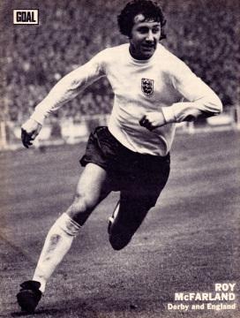 Roy McFarland, England 1973