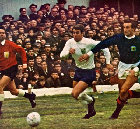 Scotland v England, 1966