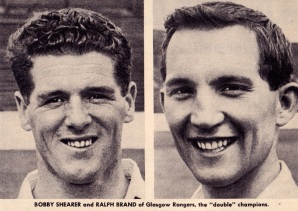Shearer and Brand, Rangers 1963