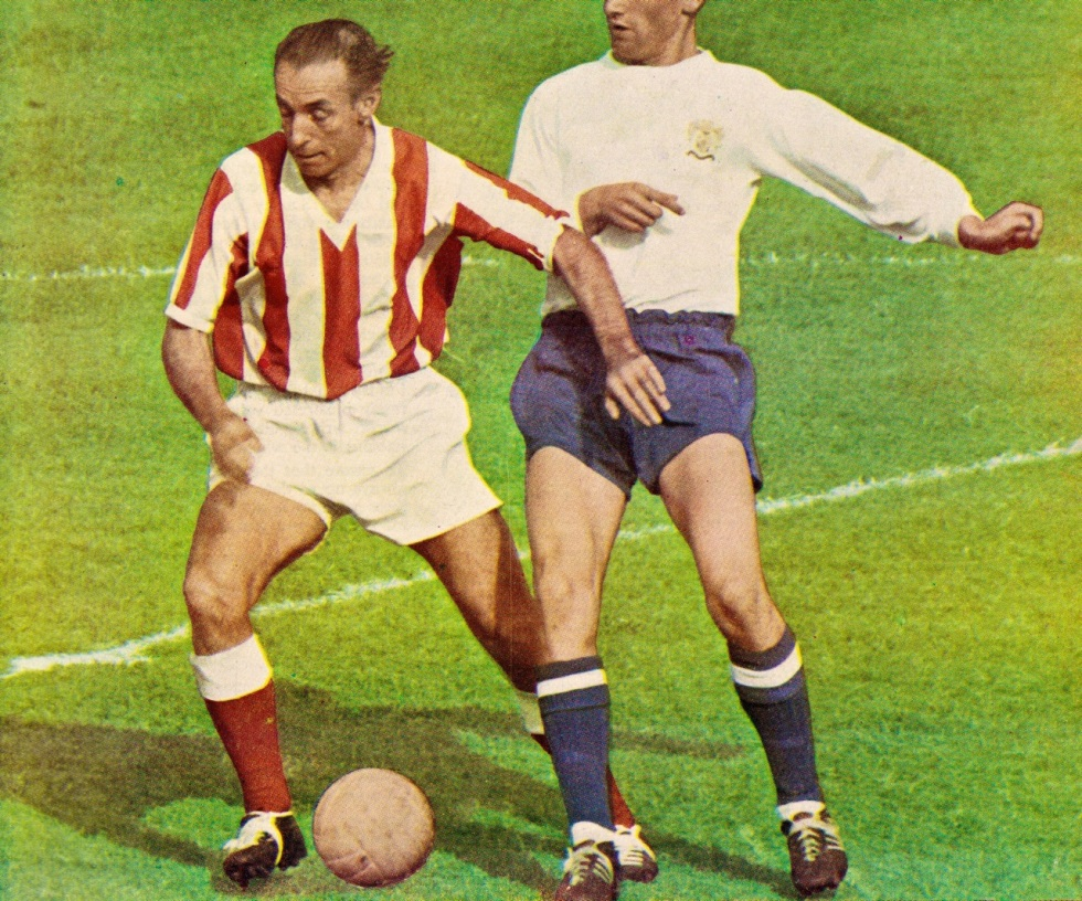 Stanley Mathews, Stoke City 1963