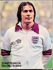 Stuart Pearson, England 1976