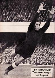 Ted Ditchburn, Tottenham 1951
