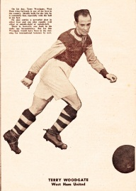 Terry Woodgate, West Ham 1951