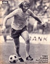 Tony Currie, England 1973