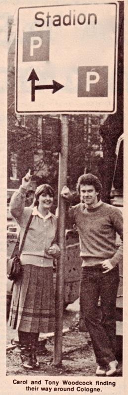 Tony Woodcock, Koln 1979