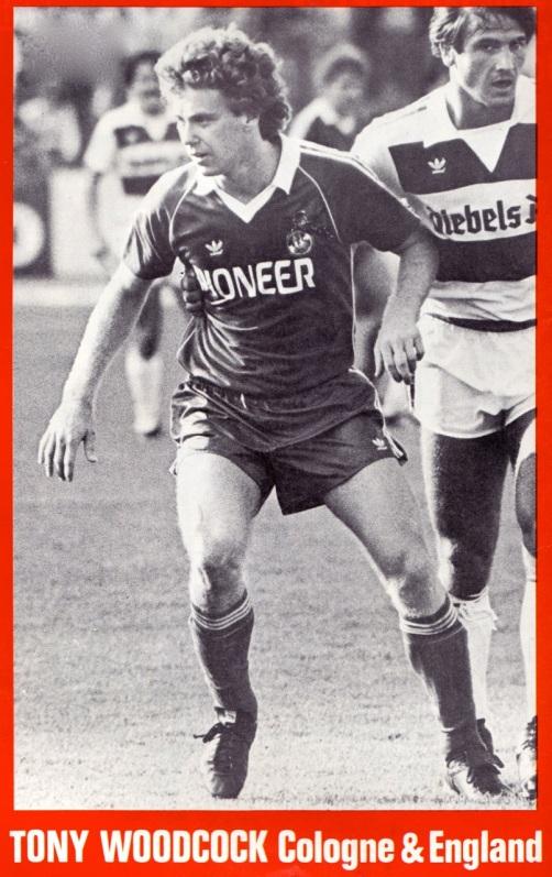 Tony Woodcock, Koln 1980