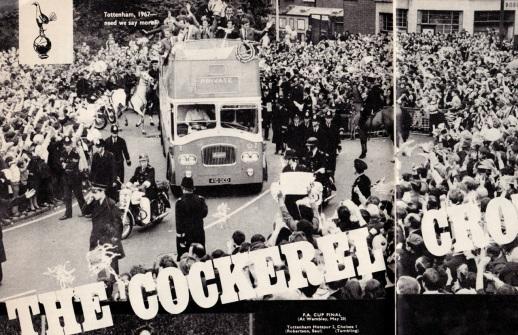 Tottenham 1967, FA Cup winners