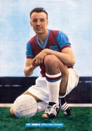 Vic Keeble, West Ham 1958