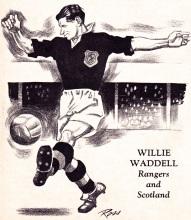 Willie Waddell, Scotland 1951