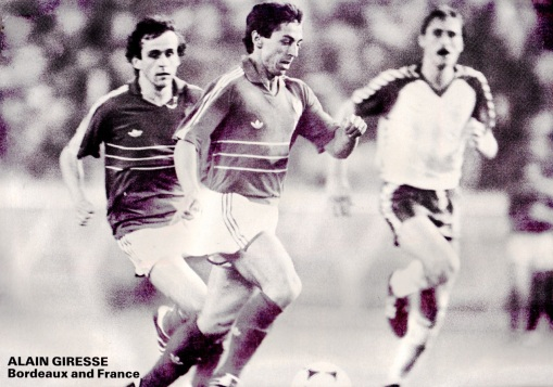 Alain Giresse, France 1984