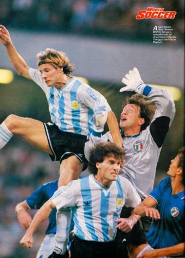 Argentina v Italy, World Cup 1990