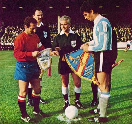 Argentina v Spain, World Cup 1966