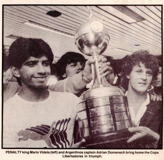 Argentinos Juniors, Copa de Libertadores 1985