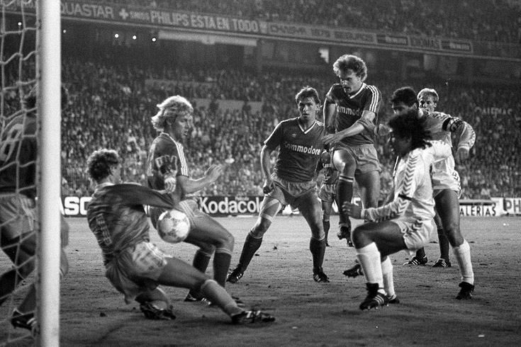 Bayern Munich 4 Real Madrid 1, 1987