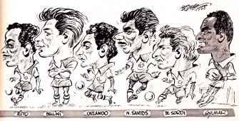 Brazil 1958 World Cup squad cartoons-2