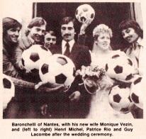 Bruno Baronchelli wedding, 1979