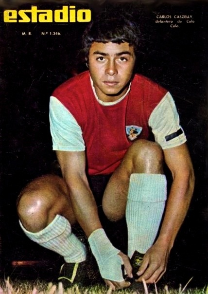 Carlos Caszely, Colo Colo 1968